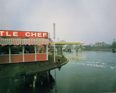Paul Graham, 'Little Chef in Rain St Neots, Cambridgeshire, May 1982, from the series A1 - The Great North Road', 1981
