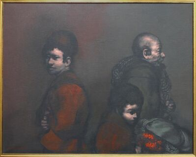 Rafael Coronel, 'Three Figures', 1976