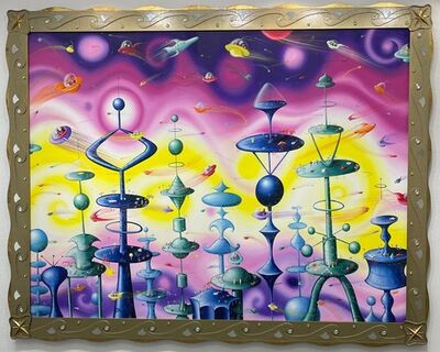Kenny Scharf, 'City of the future', 2005