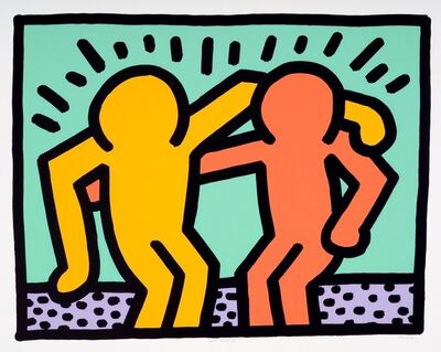 Keith Haring, 'Best Buddies', 1990