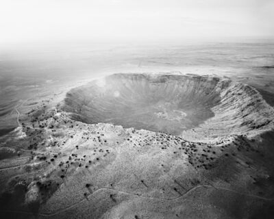 Michael Light, 'Meteor Crater Looking Northwest, Near Winslow, AZ', 2011