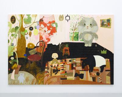 Tomoko Nagai, 'Atelier in Peach Color', 2017