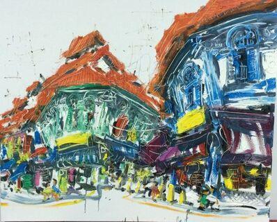 Zhu Hong, 'Bustling Streets'