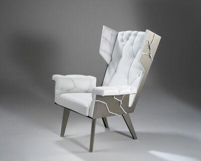 Kranen / Gille, 'Fredersen White Wingchair', 2008
