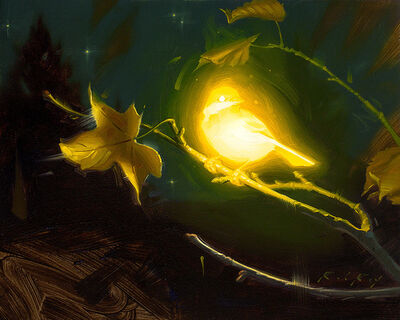 Rob Rey, 'Bioluminescence - Hope', 2017