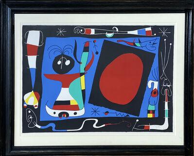 Joan Miró, 'La Femme Au Miroir ', 1956