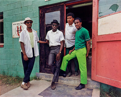 Evelyn Hofer, 'Four Young Men, Washington D.C.', 1975