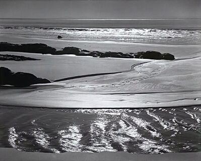 Ansel Adams, 'Refugio Beach, California, From Portfolio One: Twelve Photographic prints by Ansel Adams', 1946