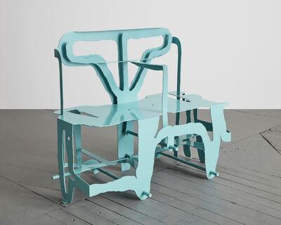 """Serban Ionescu, '""""Lacaria"""" sculptural bench', 2018"""