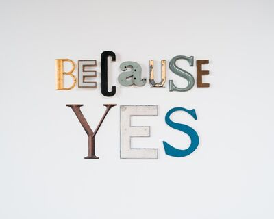 Jack Pierson, 'BECAUSE YES', 2020