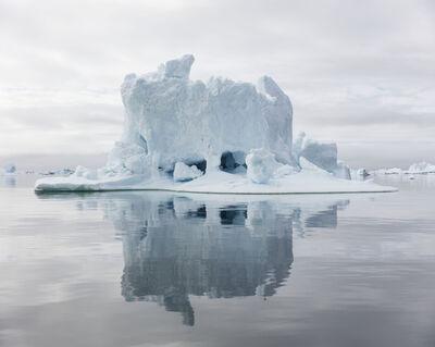 """Olaf Otto Becker, 'Ilulissat 25, 07/2015, 69° 28' 28"""" N, 51° 39' 36'' W', 2015"""