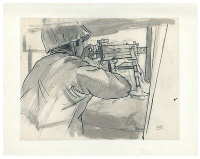 Jacques Hirtz, 'The Submachine Gun', 20th Century