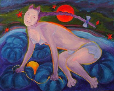 Johannes Deutsch, 'Gattina, meine Astronaution', 1987