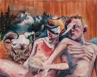 Matt Lifson, 'Two Boys and a Ram', 2007