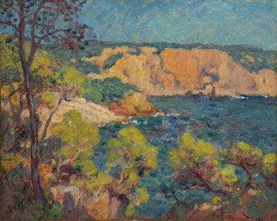 Georges d'Espagnat, 'Bandol dans le Var, bord de mer', ca. 1905