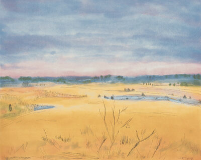 Jane Freilicher, 'Late Afternoon, Southampton', 1999