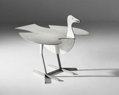Claude & François-Xavier Lalanne, ''Oiseau d'argent' extendable side table', designed 1992