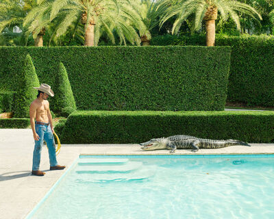 Dean West, 'Luis (The Wrangler) # 2, Boca Raton The Palms', 2021