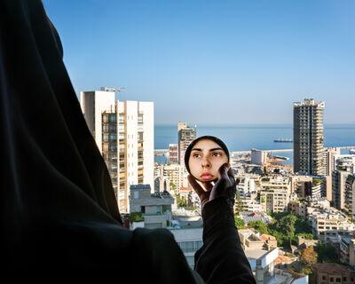 Rania Matar, 'Alae (with the mirror), Beirut Lebanon', 2020