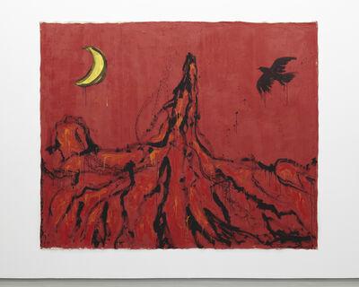 Ellie Omiya 大宮エリー, '燃えたぎる山火', 2013