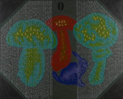Concetto Pozzati, 'Ri-Natura In Televisione', 2005