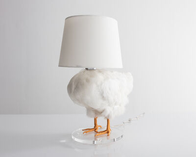 Sebastian Errazuriz, 'Chicken Lamp. Taxidermy chicken and electrical components. ', 2018