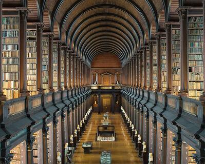 Reinhard Gorner, 'Trinity College, the Long Room IV, Dublin', 2016
