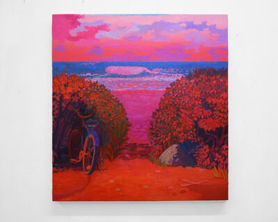 Daniel Heidkamp, 'Pink Wave', 2018