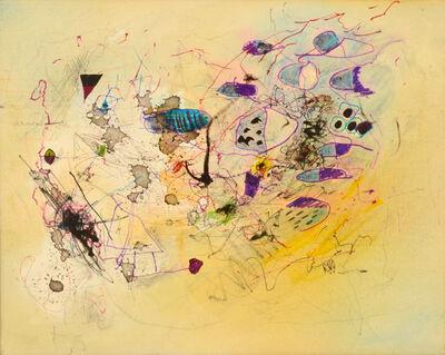 Roger van Ouytsel, 'Composition in Blue and Black', 2016