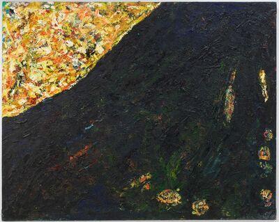 Gunter Damisch, 'Schräger Horizont', 1985
