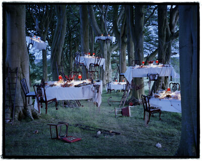 Tim Walker, 'After the floating dinner party, Cheviot Walk, Northumberland, 2011', 2011