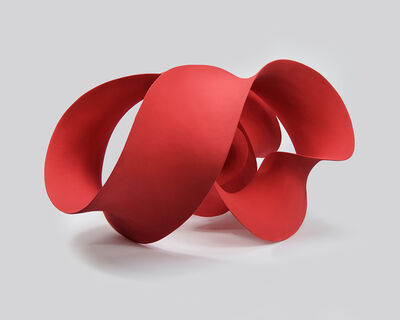 Merete Rasmussen, 'Quadruple Twisted Red', 2020