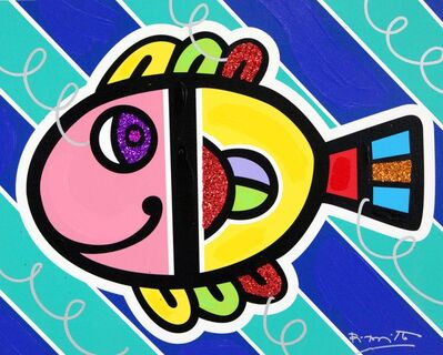 Romero Britto, 'Tropical Fish', 2020