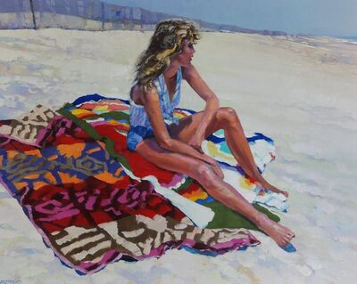 Howard Behrens, 'On the Beach Blanket'