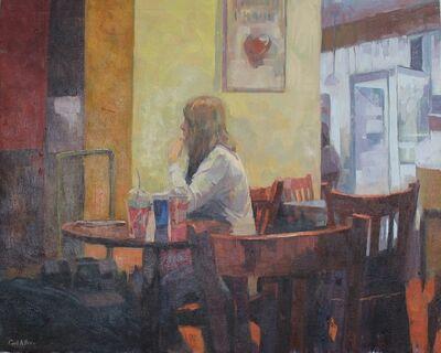 Ceri Allen, 'Station cafe'