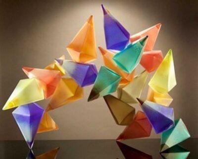RICHARD ROYAL, 'Geometric Flare', 2017