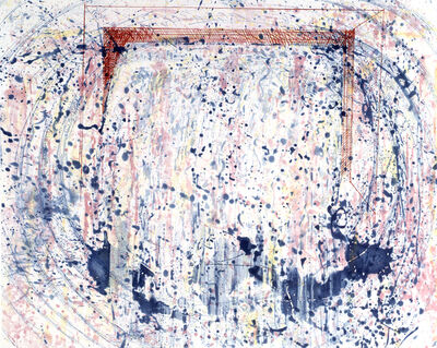 Pat Steir, 'Direction of Water', 1991