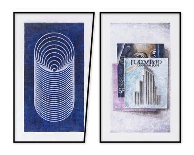 Amadeo Azar, 'El tunel - los libros ', 2019