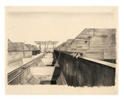 Carl Grossberg, 'Bunker / Bekohlungsanlage (BEWAG, Berlin)', 1930