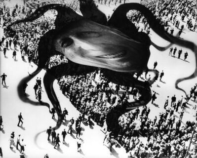 Barbara Morgan, 'Hearst over the People (Photomantage)', 1938-printed circa 1980