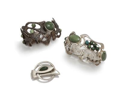 Erika Hult de Corral, 'Three Erika Hult de Corral jewelry items', c.1970