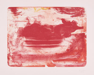 Helen Frankenthaler, 'The Red Sea', 1978-82