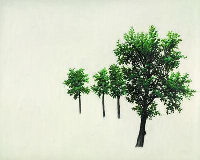 Zeng Hao, 'Trees', 2010