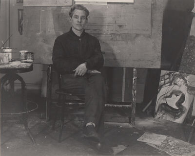Walter Auerbach, 'W. de Kooning', 1947