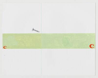 Steven Baldi, 'Canon spread, screw in the gutter', 2017