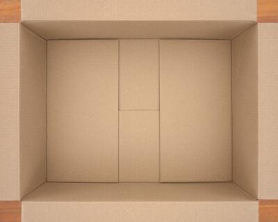 Isaac Layman, 'Untitled (cardboard box)', 2018