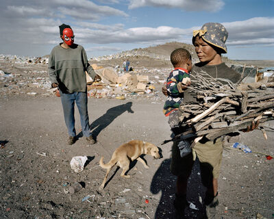 Mikhael Subotzky, 'Samuel (Looking), Vaalkoppies (Beaufort West Rubbish Dump)', 2006