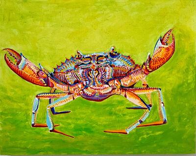 Jennifer Clifford Danner, 'Crab in Green', 2019