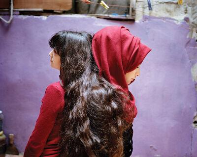 Rania Matar, 'Sara and Samira Bourj El Barajneh Camp Beirut, Lebanon', 2017