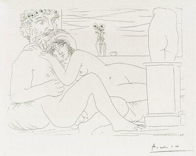 Pablo Picasso, 'Le Repos du Sculpteur devant le Petit Torse', 1933